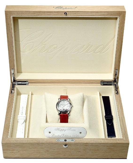 """Happy Texas"" Timepiece and Gift Box (PRNewsFoto/Chopard)"