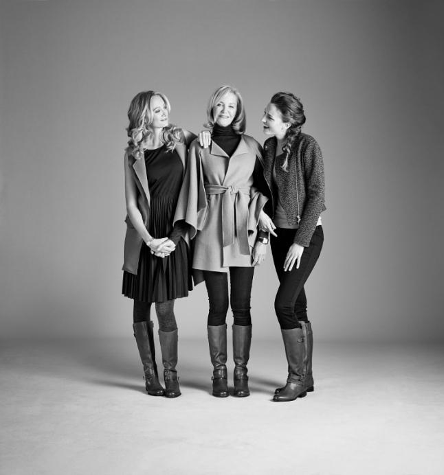 Hannah, Martha & Emily Baker wearing the Naturalizer Jordie (PRNewsFoto/Caleres, Inc.)