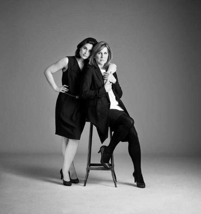 Jill & Marilyn Durso wearing the Naturalizer Michelle (PRNewsFoto/Caleres, Inc.)