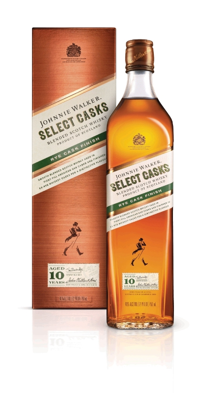 Johnnie Walker Select Casks - Rye Cask Finish (PRNewsFoto/Diageo)