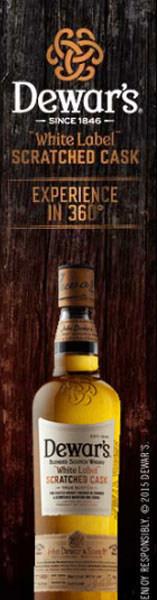 Scotch Making Comes To Life Through DEWAR'S(R) First Foray Into Virtual Reality (PRNewsFoto/DEWAR'S)