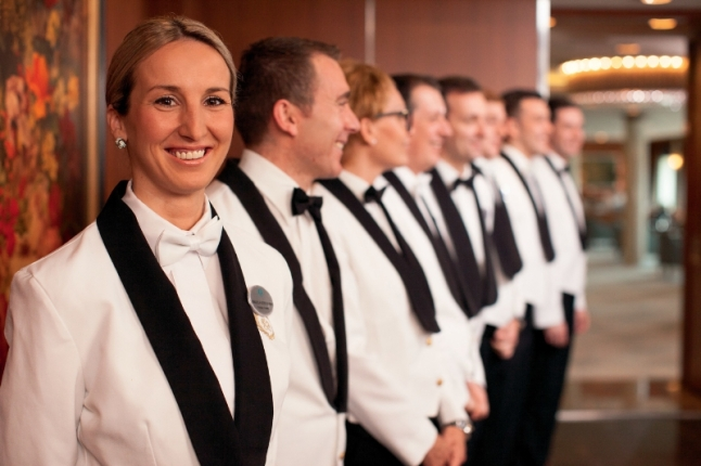 Crystal's Six Star Service (PRNewsFoto/Crystal Cruises)