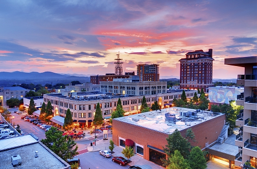 Booking.com Reveals The Top 7 Emerging Food Capitals In The US - Asheville, North Carolina (PRNewsFoto/Booking.com)