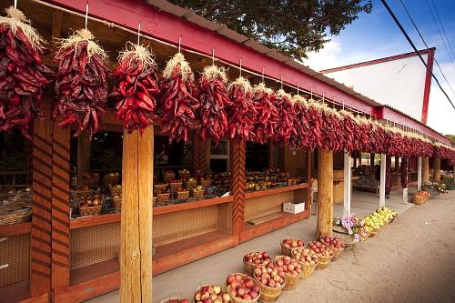 Booking.com Reveals The Top 7 Emerging Food Capitals In The US - Santa Fe, New Mexico (PRNewsFoto/Booking.com)