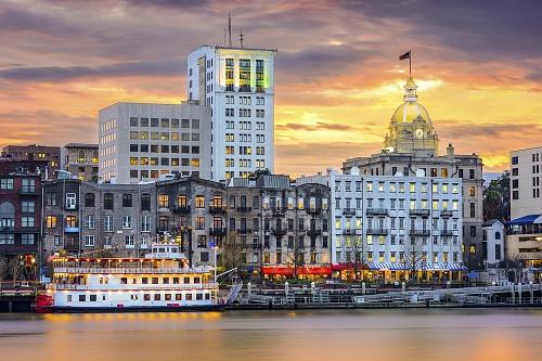 Booking.com Reveals The Top 7 Emerging Food Capitals In The US - Savannah, Georgia (PRNewsFoto/Booking.com)
