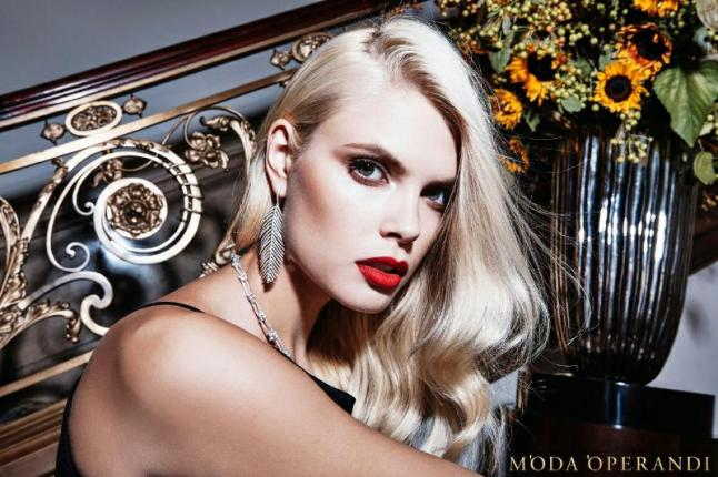 The 2015 Moda Operandi Holiday Collection campaign photographed by Steve Hiett. (PRNewsFoto/Moda Operandi)
