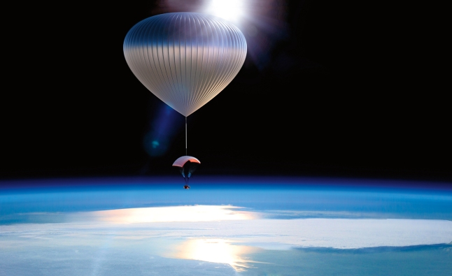 This two-part adventure takes you and seven companions up 100,000 feet into space in a luxury pressurized capsule where you will experience 360 degree views of Earth.