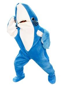 Adult - Katie Perry Left Shark Costume