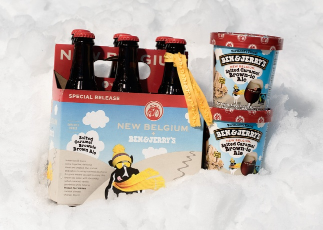 Ben & Jerry's Partners with New Belgium Brewing and releases Salted Caramel Brown-ie Ale (3)