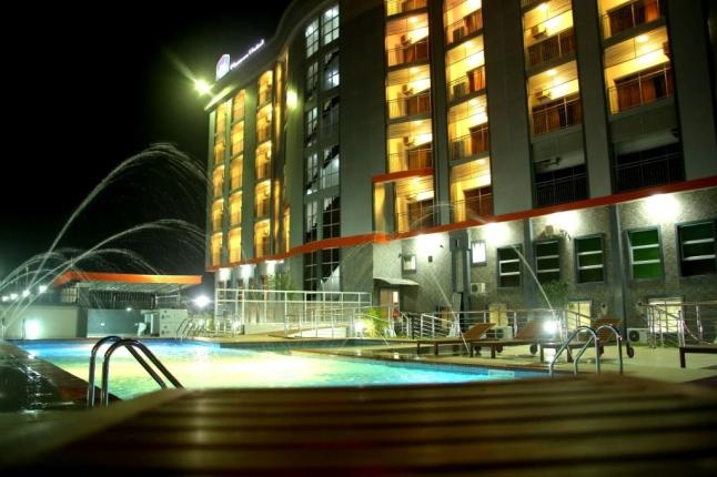 Best Western Elomaz Plus Hotel Asaba Nigeria Pool