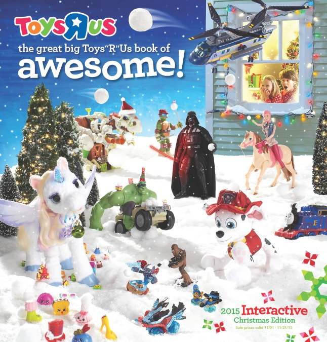 "Cover of THE GREAT BIG TOYS""R""US BOOK OF AWESOME"