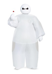 Boys - White Big Hero 6 Baymax Inflatable Costume