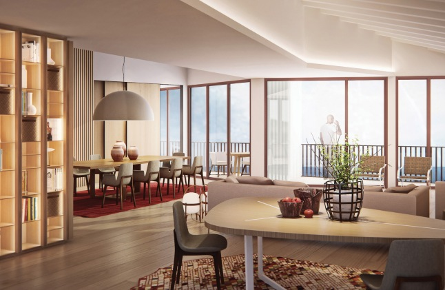 Canyon Ranch Kaplankaya - Presidential Suite Rendering