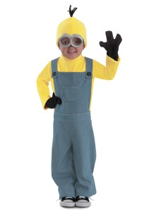 Child - Minions Deluxe 'Bob' Jumpsuit