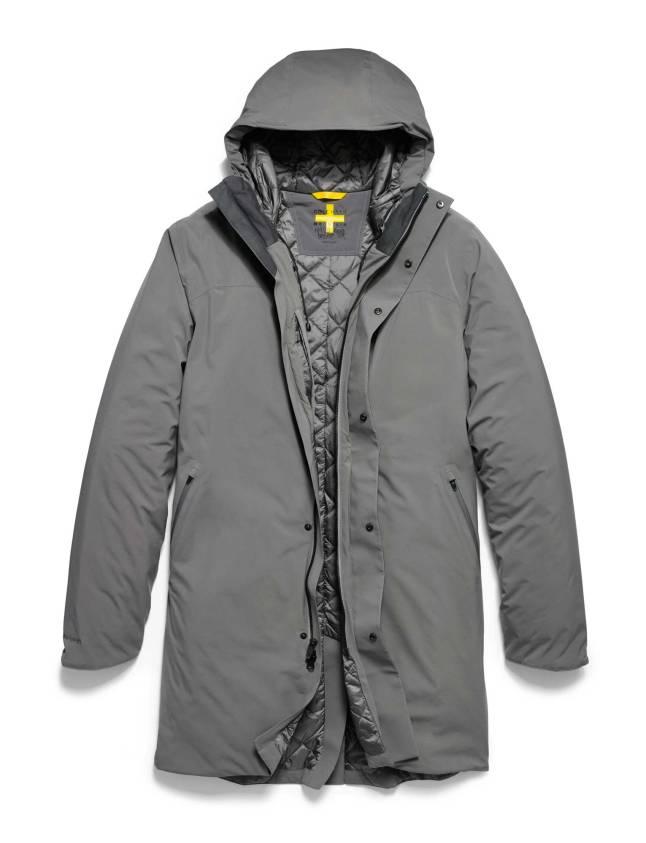 cb6868b6b11ed Cole Haan + Mountain Hardwear ZerøGrand Outerwear – Men s ZerøGrand Trench  Coat in Titanium