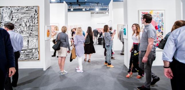 Atmosphere at Galleries, Art Basel Miami Beach 2014 © Art Basel
