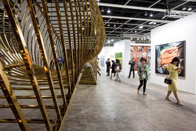 Art Basel in Hong Kong 2015 - General Impression © Art Basel Photo by Jessica Hromas/Art Basel 2015