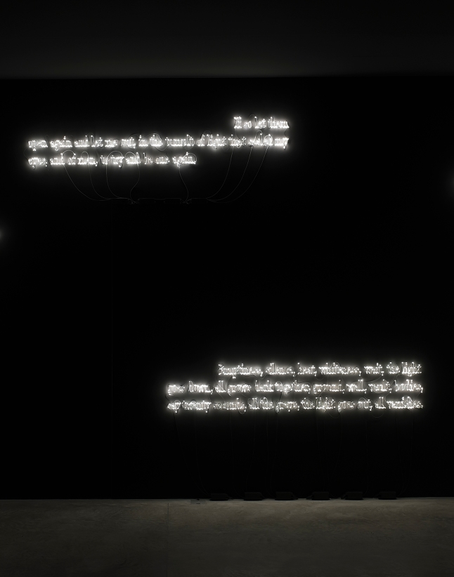 Lia Rumma, Joseph Kosuth, Installation view 'Texts for nothing' Samuel Beckett, in play, 2010. Photo credit - Daniele Nalesso; Courtesy the artist and the gallery