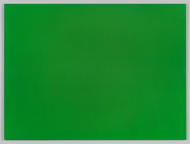Liz Deschenes, Green Screen #7, 2001. Chromogenic print: sheet, 49 9/16 × 66 (125.9 × 167.6) Promised gift of Thea Westreich Wagner and Ethan Wagner P.2014.12