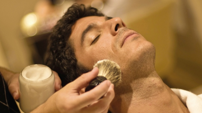 The Barber Shop's services range from a classic straight edge razor shave and moustache trim to Moroccan oil scalp massages and various hair cut services, deemed A Cut & A Cold One.