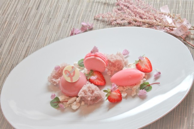Pink Panna Cotta