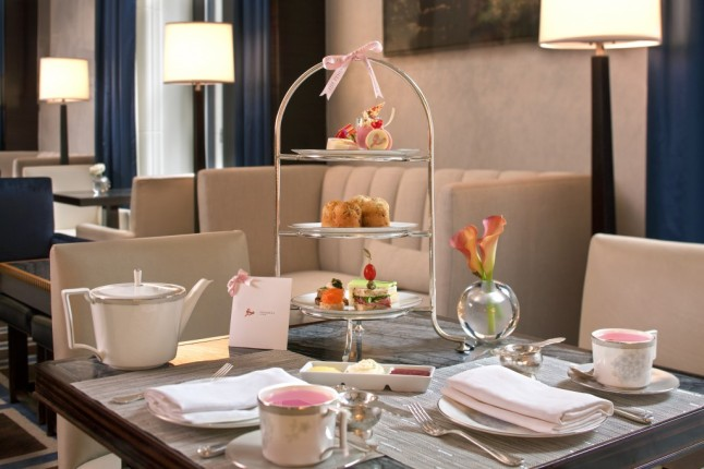Gotham Lounge's Pink Afternoon Tea