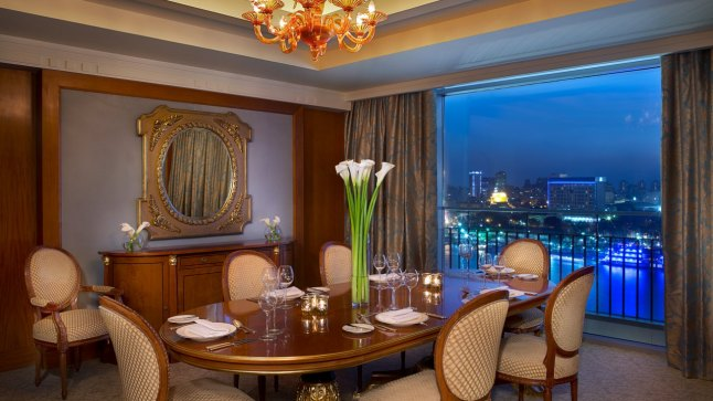 ROYAL SUITE DINING ROOM