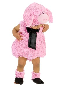 Squiggly Pig Costume