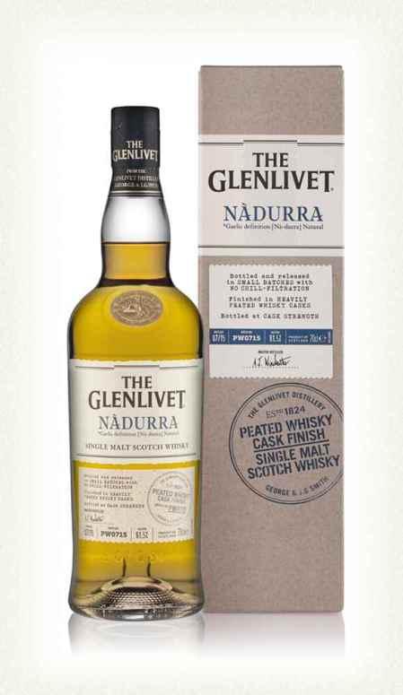 The Glenlivet Nàdurra Peated Whisky Cask Finish