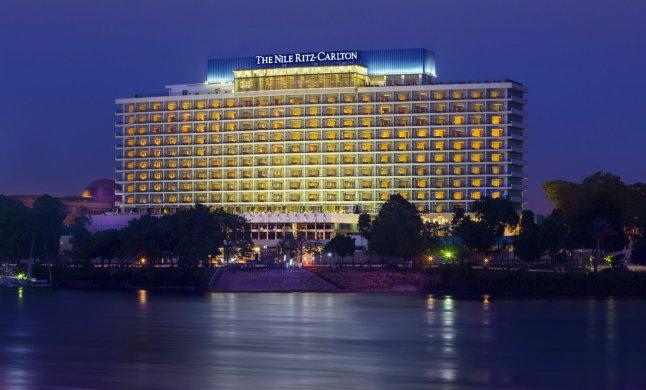 The Nile Ritz-Carlton, Cairo Hotel Facade