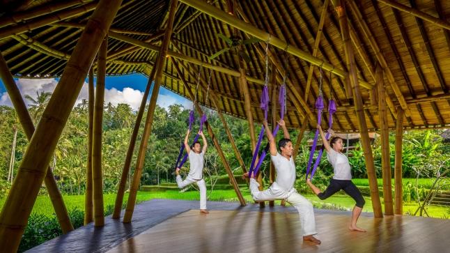 Four Seasons Resort Bali at Sayan's new Dharma Shanti River Terrace