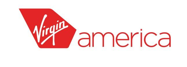 Virgin America logo. (PRNewsFoto/Virgin America)