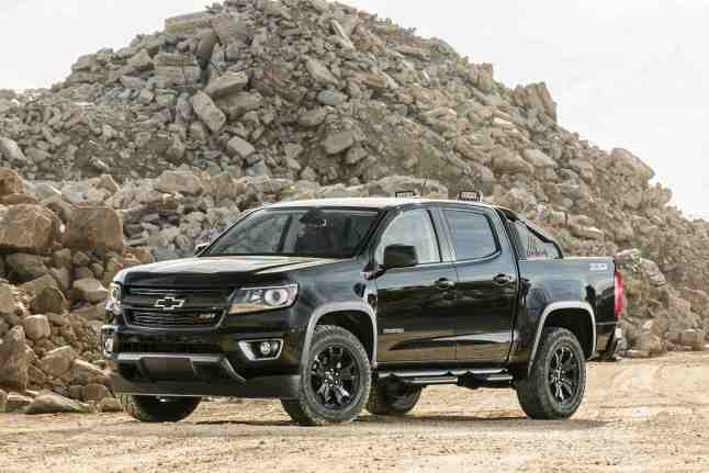 2016 Chevy Colorado TOTY. (Photo by Brian Brantley/Brian Brantley Media/Motor Trend, ©2015)