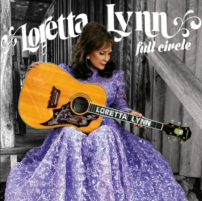 Legacy Recordings will release FULL CIRCLE, the first new studio album in over ten years from American music icon Loretta Lynn, on March 4, 2016. (PRNewsFoto/Legacy Recordings)