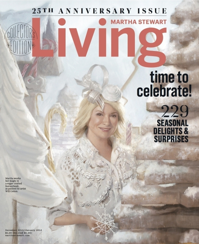 Martha Stewart Living 25th Anniversary Issue (PRNewsFoto/Meredith Corporation)