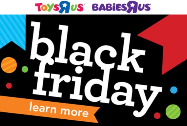 "Toys""R""Us Reveals Thanksgiving Weekend and Black Friday Deals (PRNewsFoto/Toys""R""Us, Inc.)"