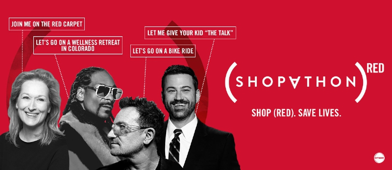 Enter to win once-in-a-lifetime celebrity experiences on Omaze.com/RED (PRNewsFoto/(RED))