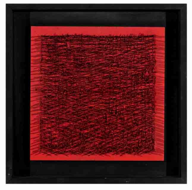 Auctionata, '100 Masterworks', Lot 38 - Bernard Aubertin (1934-2015), Tableau Clous, Mixed Media, 1970