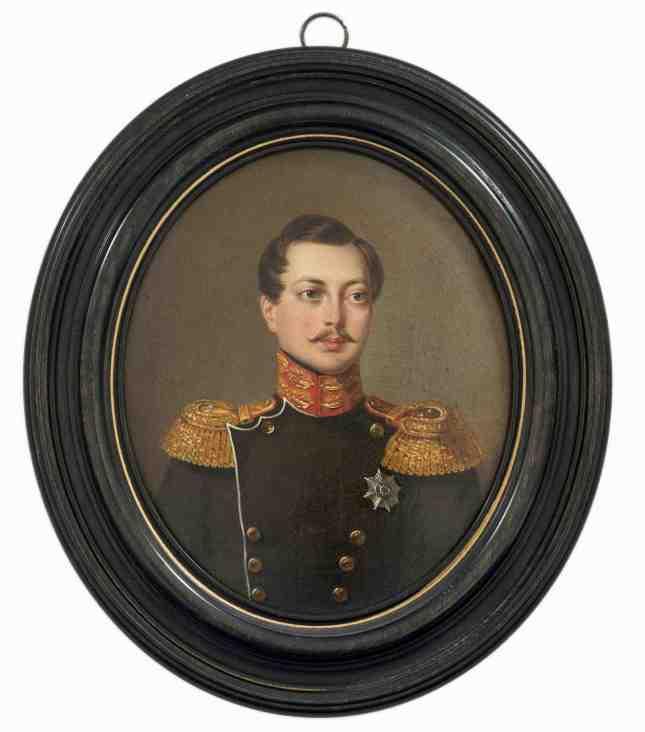 Auctionata 363 Lot 54- Jan X. Kaniewski, Miniature, Alexander Nikolaevich, 1839