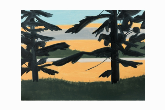 "Auctionata, 100 Masterworks"", Lot 14 - Alex Katz (b. 1927), Sunset 2, Oil Painting, 2008"