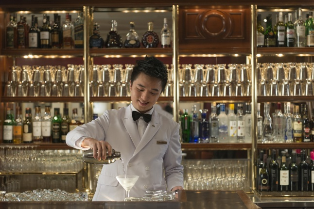 Captain Bar at Mandarin Oriental, hong Kong