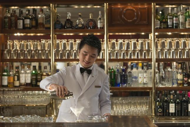 Captain Bar at Mandarin Oriental, hong Kong