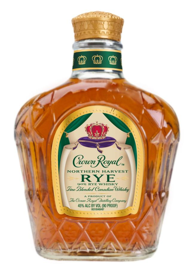 "Crown Royal Northern Harvest Rye has awarded the coveted title of ""World Whisky of the Year""by Jim Murray's Whiskey Bible 2016."
