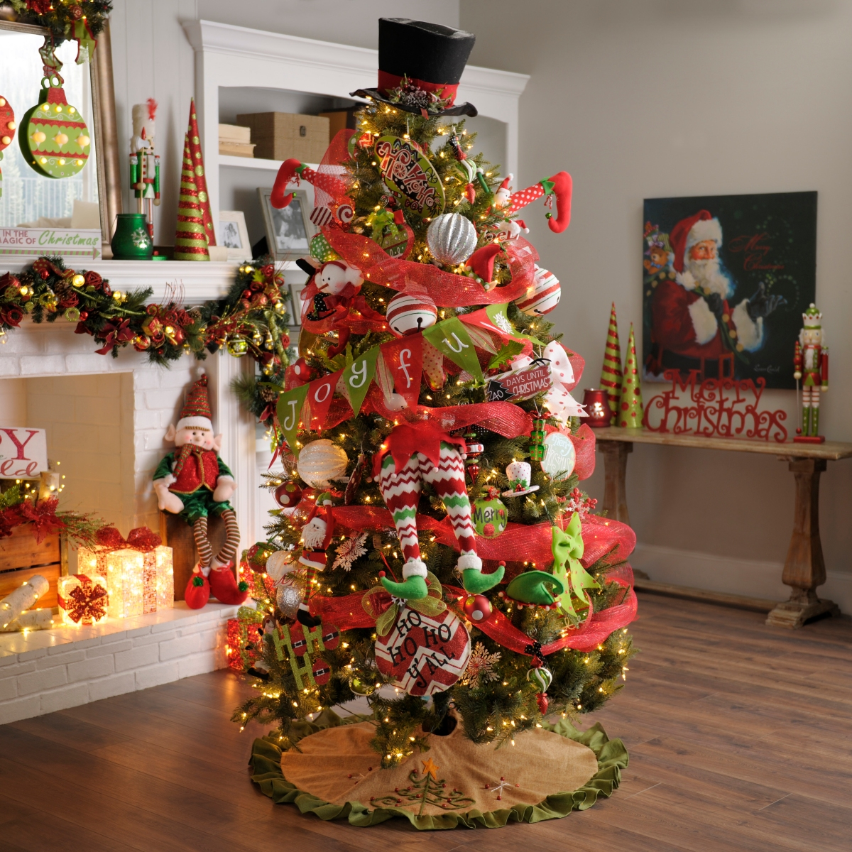 Deck The Halls With Cheery Ornaments, Tree Toppers And
