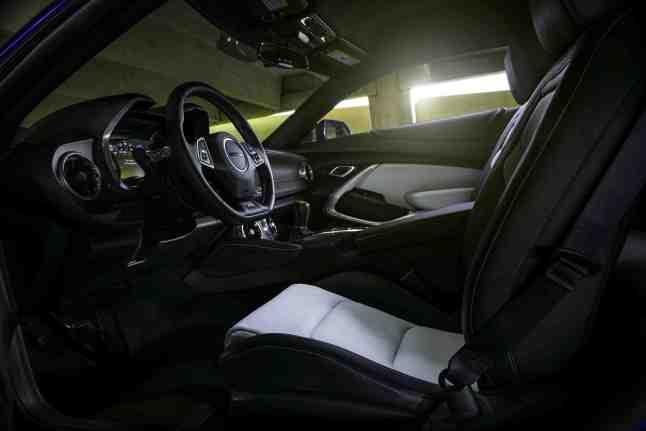 Interior shot of the 2016 MOTOR TREND Car of the Year Winner: 2016 Chevrolet Camaro