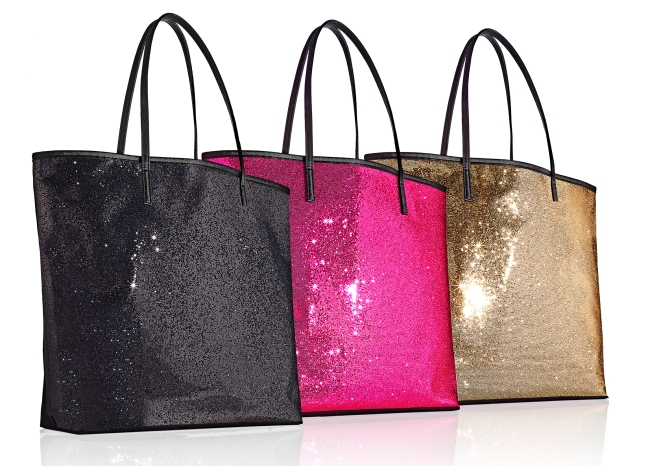 Free Glitter Tote with any $95 fragrance purchase