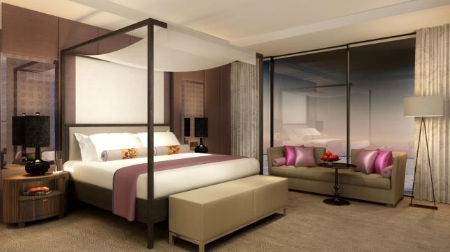 Guest room at Four Seasons Hotel Casablanca