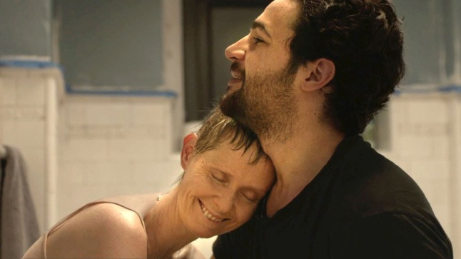 "Screenshot from ""James White"" with Cynthia Nixon and"