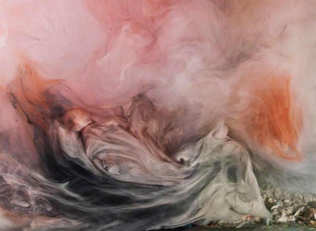 Kim Keever, Abstract 15101c, Edition of Edition of 5, 2015C-print, 24 x 31 OR 33 x 44 in