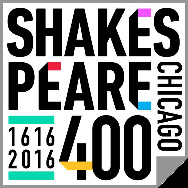 Shakespeare 400 Chicago logo